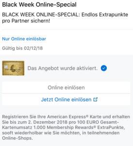 1.000 American Express Membership Rewards Punkte bei Medion MyToys Christ Black Week Details