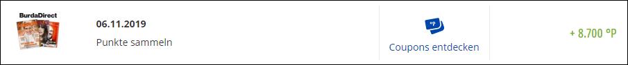 tv Hören und Sehen Jahresabo 8700 PAYBACK Punkte Gutschrift
