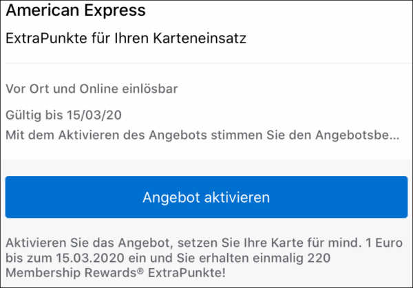 220-American-Express-Punkte Details 1